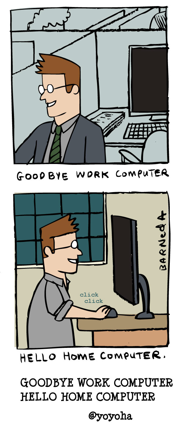 work home computer