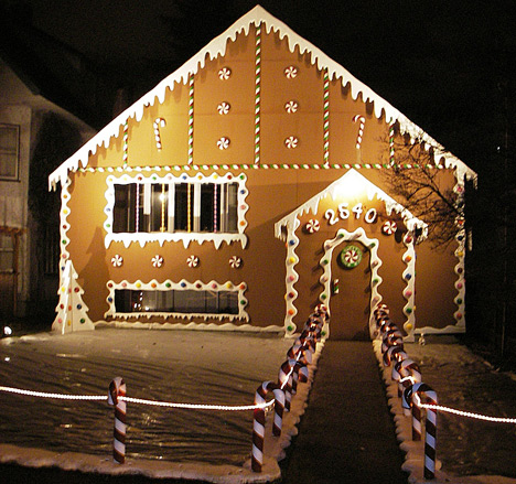 Weihnachtsbeleuchtung amerika