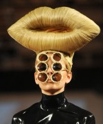 Hairdo at London fashion week