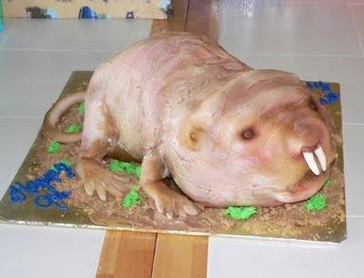 Mole Rate Cake 1