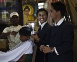 Nepalese teenager invents solar panel with human hair