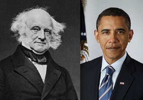 Van Buren and Obama