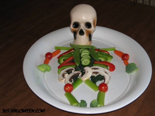 halloween-vegetable-platter