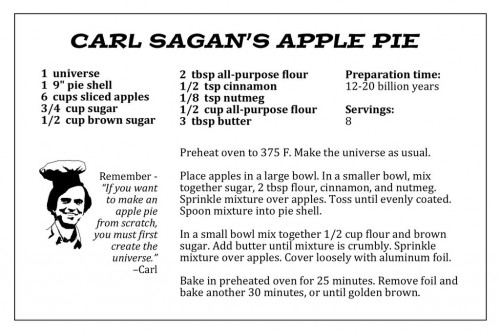 Carl-Sagan\'s-Apple-Pie