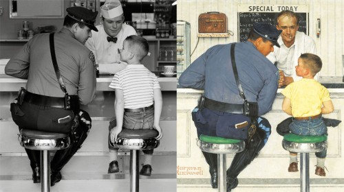 Norman Rockwell photo