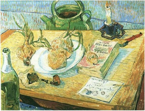VanGogh still life onions