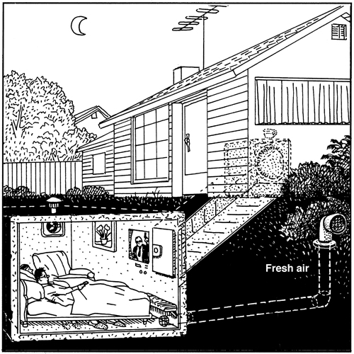 Zombie Shelter Plans : The enemy at door neatorama