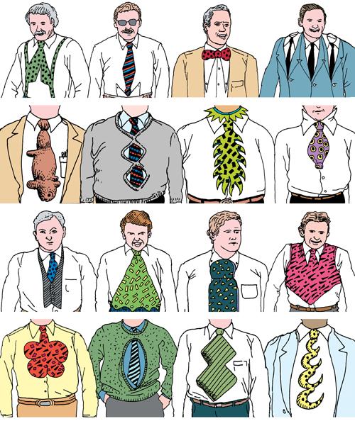 possibilities for mutation in necktie design neatorama