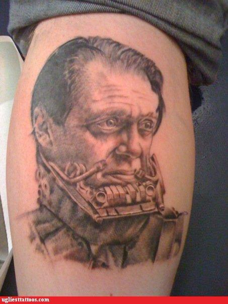 darth vader tattoo. the voice of Darth Vader,