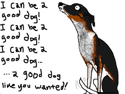 Hyperbole And A Half Dog Eat Bees