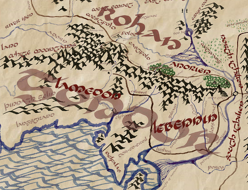 Calling All Lotr Fans Interactive Map Of Middle Earth