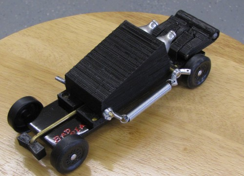 how to add weight to pinewood derby car