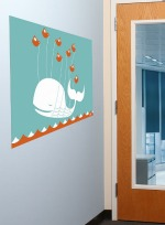 Twitter Fail Whale Wall Graphic