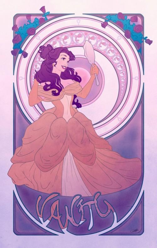 Disney Princesses As The Seven Deadly Sins Neatorama