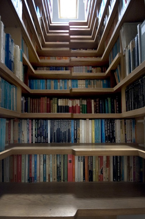 If You Have A Lot Of Books, You May Have Wished Your Home Came With A Set  Of Bookcases Built Into The Walls, But Iu0027m Willing To Guess You Never  Conceived Of ...