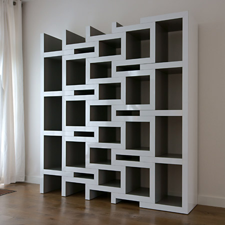 Funky Bookshelves 18 seriously cool bookshelves & bookcases - neatorama