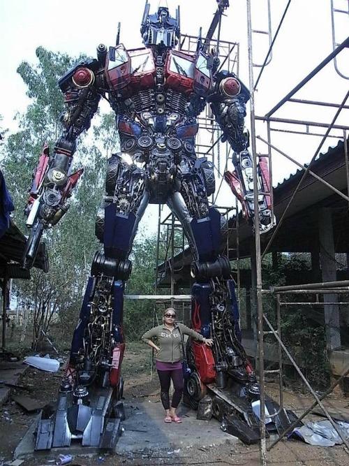 Transformers Sculpture
