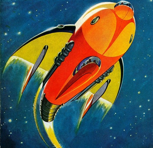 10 Cool Sci Fi Retro Artworks: Retro Future: Space Art