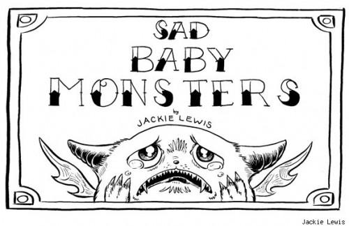 Adorable Sad Baby Monsters Neatorama
