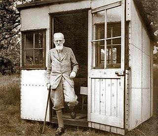 gartenhaus dichterisch wohnet der mensch container uni. Black Bedroom Furniture Sets. Home Design Ideas