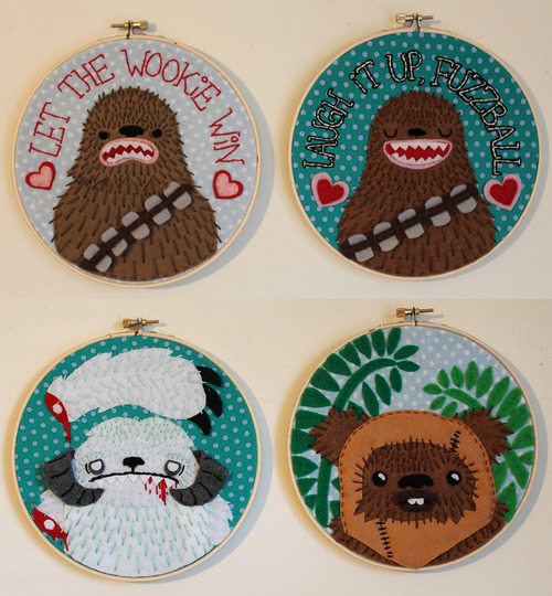 Star Wars Embroidery