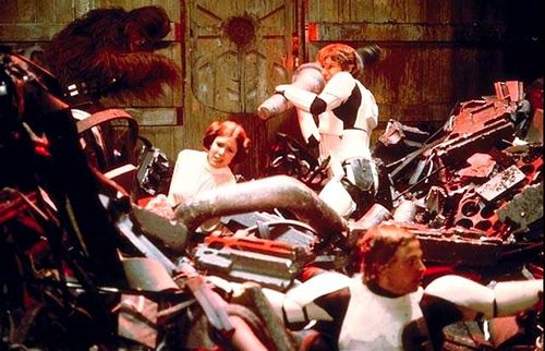 The Death Star S Trash Compactor Was Hopelessly