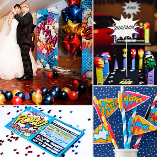 Geek Wedding Ideas: 20 Fun Ideas For Superhero Weddings