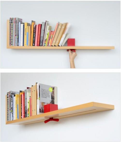 Adjustable Bookshelf Neatorama