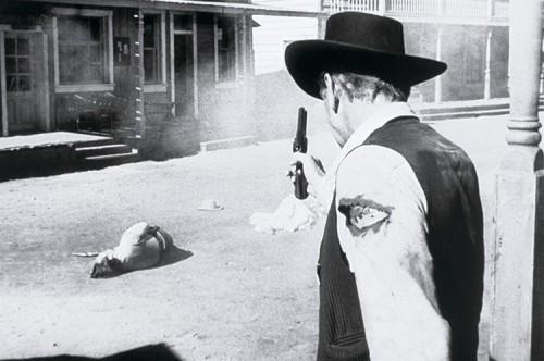 cowboy duel shot