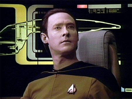 Star Trek Data Character
