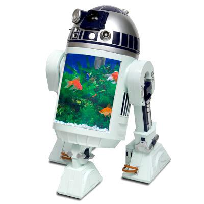 11 amazingly geeky aquariums neatorama for Star wars fish tank decorations