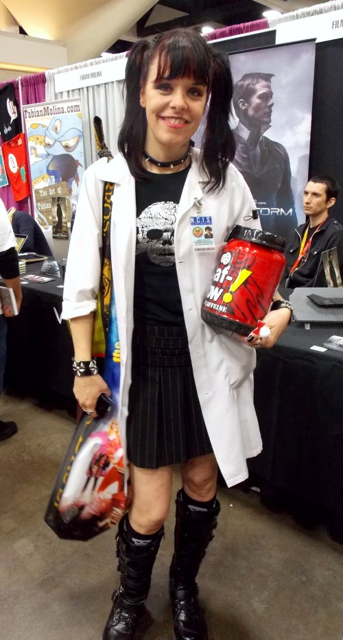 From All The Years I Ve Gone To Con This Was First Time Saw Anyone Cosplay As Someone Ncis But Have Say Did A Great