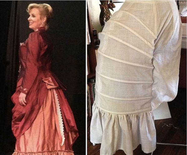 Bustle: Victorian Secret: Sitting In A Lobster Bustle Skirt Is