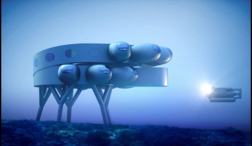 This Is The World's Largest Underwater Station