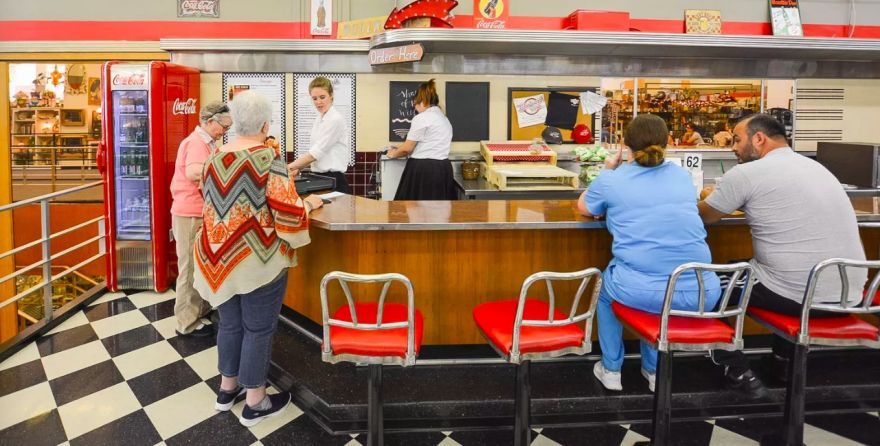 The Last Woolworth's Lunch Counter