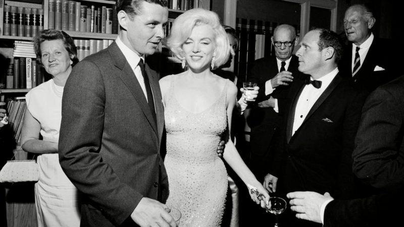 "Here's The Story Behind Marilyn Monroe's ""Happy Birthday Mr.President"" Dress"