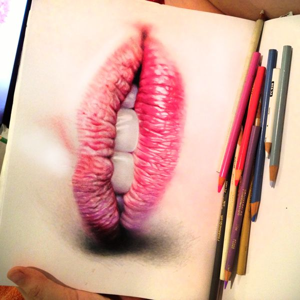 amazingly realistic colored pencil drawings neatorama