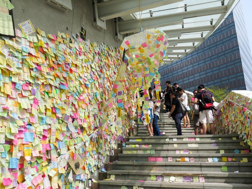 The Lennon Walls Of Hong Kong
