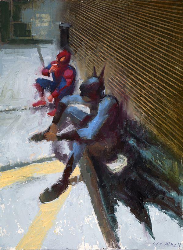 The Dreary Side of Superhero Life