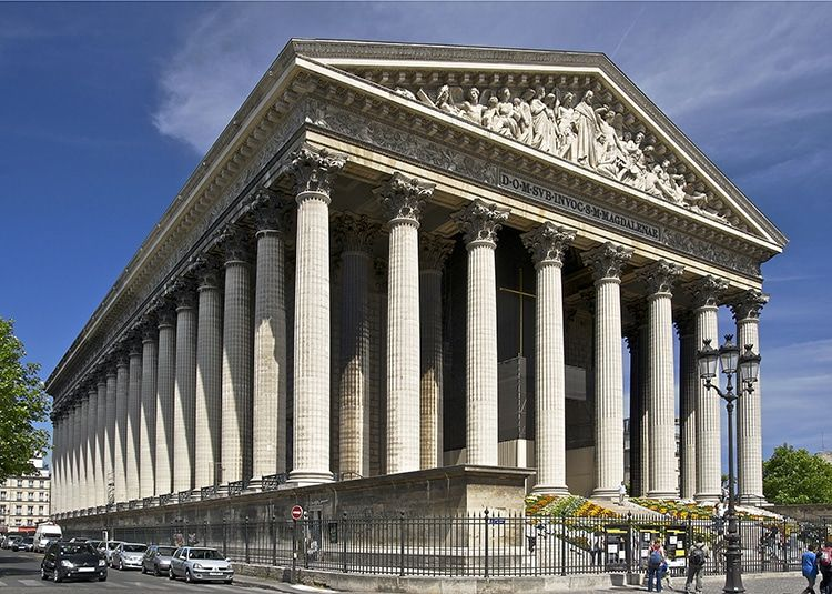 The Paris Church Dedicated To Mary Magdalene