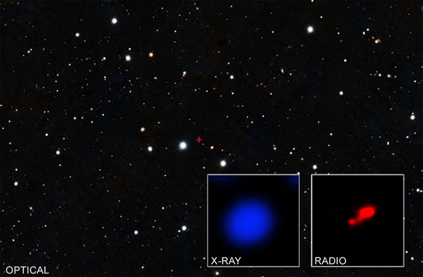 Astronomers Found Cloaked Black Hole Using NASA's Chandra X-ray Observatory