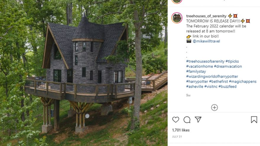 Harry Potter-Inspired Airbnb