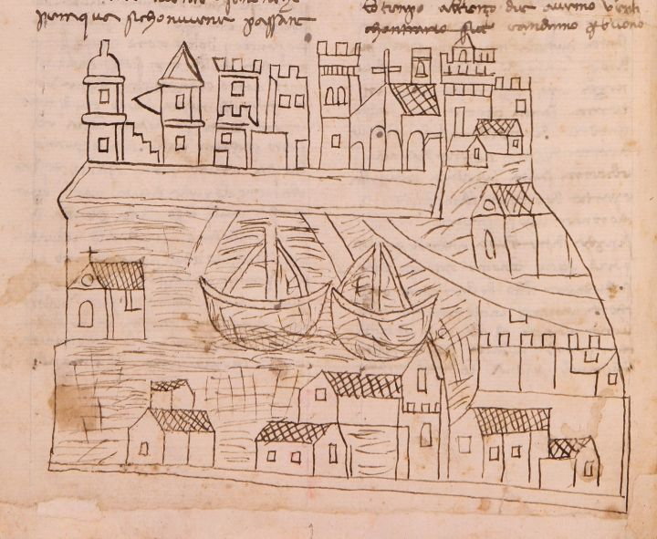 Here Is The Oldest Drawing Of Venice