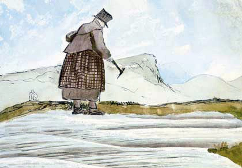Mary Anning, One of the First Female Fossilists