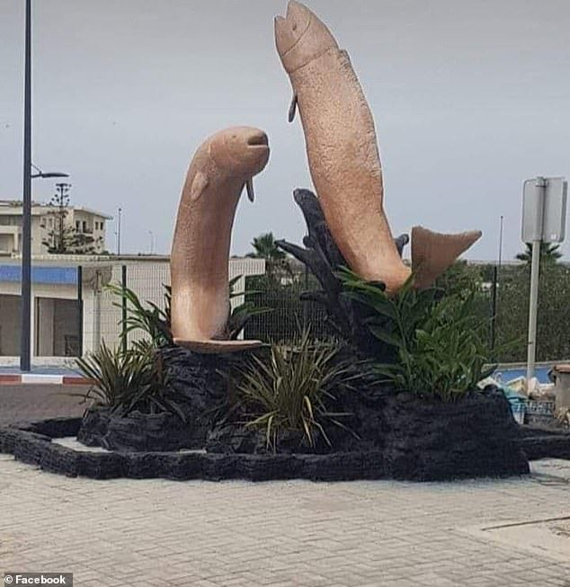 This Fish Statue Looked So Obscene That It Was Demolished