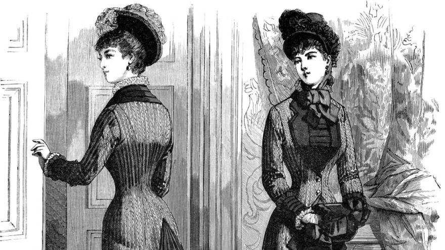 Victorian Women Worked Out In Corsets