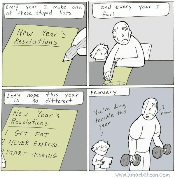 New-Year-resolution Posts