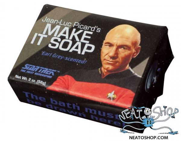 Star Trek Jean-Luc Picard's Make It Soap Mini Soap