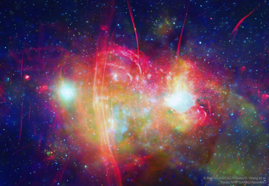 How Our Galactic Center Glows