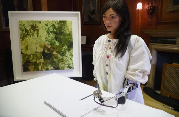 Humanoid Robot Artist Gears Up For First Solo Exhibition